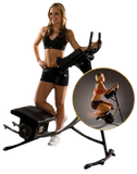 Ab Coaster Black - Home Gym & Fitness Equipment