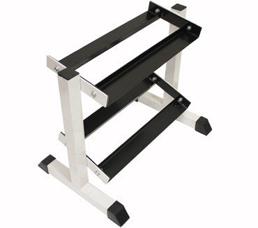 Troy USA - Miniature 2 tier, 5 pair Dumbbell Rack