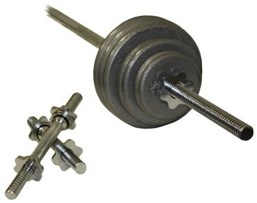Troy USA - Regular 110lb. Threaded Weight Set