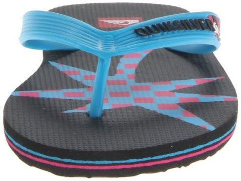 Quicksilver Boy's Molokia Art Flip-Flop