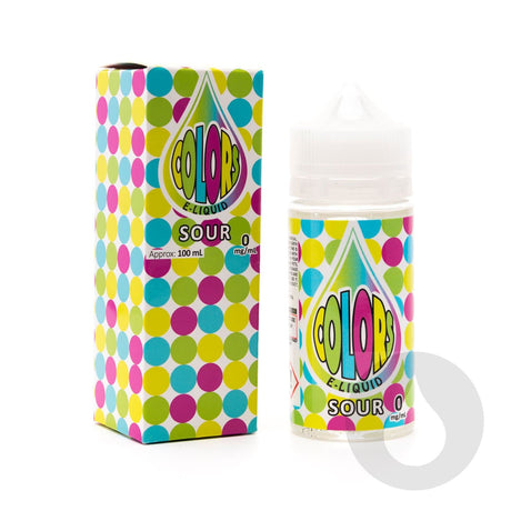 Colors Sour - Eliquids NZ - New Zealand's Vape, Ecig & Eliquid Store
