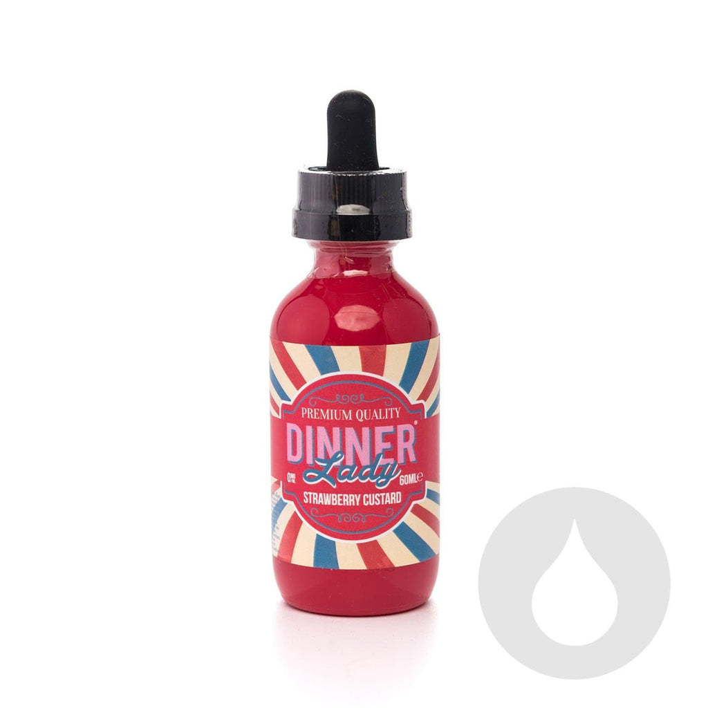 Strawberry Custard Dinner Lady - Eliquids NZ - New Zealand's Vape, Ecig & Eliquid Store