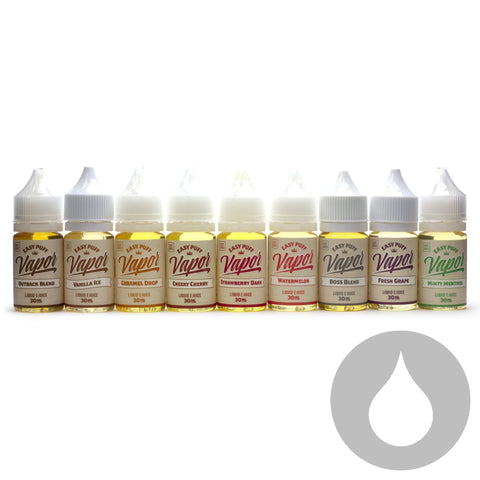 Easypuff Vapors - Vanilla Ice - 30ml  - Eliquids NZ - New Zealand's Vape, Ecig & Eliquid Store