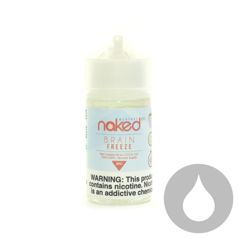 Naked 100 - Brain Freeze - 60ml - Eliquids NZ - New Zealand's Vape, Ecig & Eliquid Store