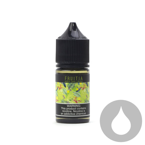 Fruitia - Kiwi Apple Crush - Nic Salt - 30ml - Eliquids NZ - New Zealand's Vape, Ecig & Eliquid Store
