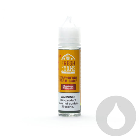 Fresh Farms - Strawberry Farm Cake - 60ml - Eliquids NZ - New Zealand's Vape, Ecig & Eliquid Store