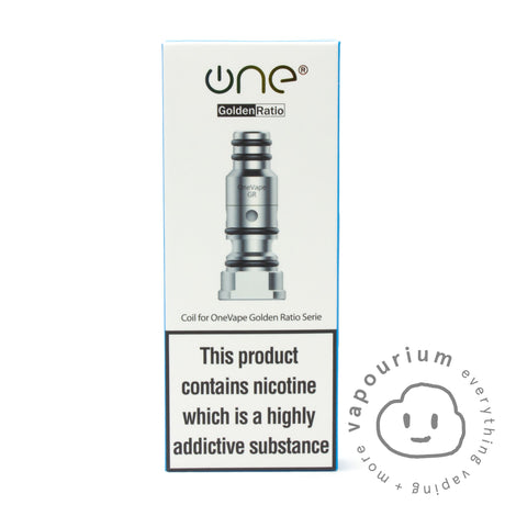 Onevape Golden Ratio Replacement Coils - Vapourium, Buy Vape NZ, Ecig, Vape Pens, Ejuice/Eliquid, Christchurch, Dunedin
