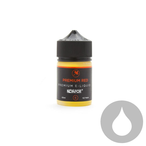 Premium Red - NZ Vapor - 60ml - Eliquids NZ - New Zealand's Vape, Ecig & Eliquid Store