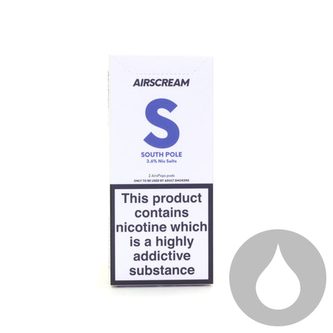 Airscream Pods - South Pole - 2 Pack - Eliquids NZ - New Zealand's Vape, Ecig & Eliquid Store