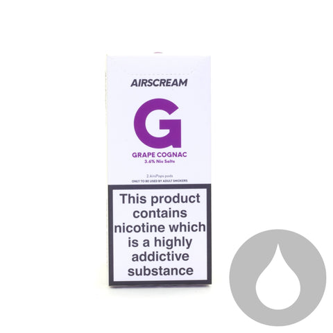 Airscream Pods - Grape Cognac - 2 Pack