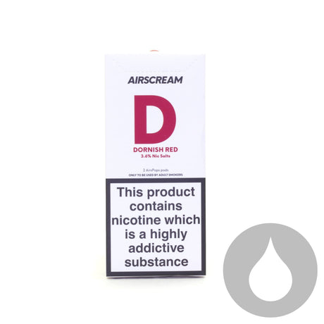 Airscream Pods - Dornish Red - 2 Pack - Eliquids NZ - New Zealand's Vape, Ecig & Eliquid Store