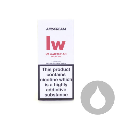 Airscream Pods - Ice Watermelon - 2 Pack - Eliquids NZ - New Zealand's Vape, Ecig & Eliquid Store
