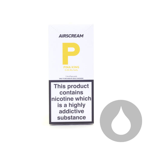 Airscream Pods - Pina King - 2 Pack - Eliquids NZ - New Zealand's Vape, Ecig & Eliquid Store
