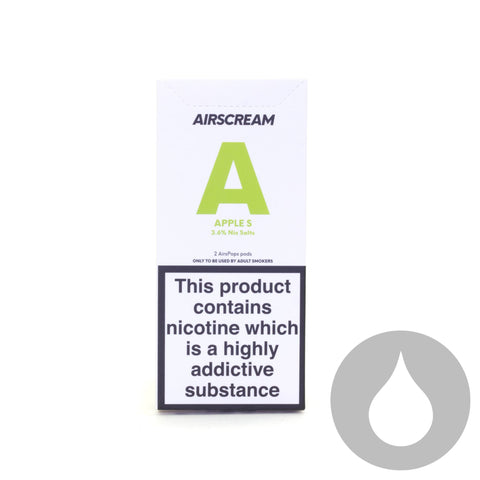 Airscream Pods - Apple S - 2 Pack - Eliquids NZ - New Zealand's Vape, Ecig & Eliquid Store