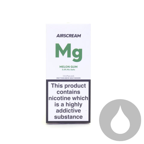 Airscream Pods - Melon Gum - 2 Pack - Eliquids NZ - New Zealand's Vape, Ecig & Eliquid Store