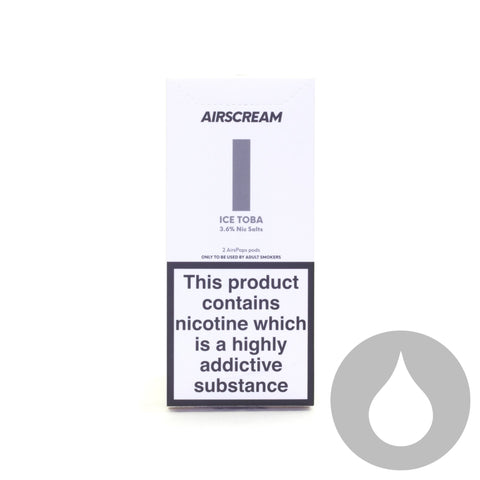 Airscream Pods - Ice Toba - 2 Pack - Eliquids NZ - New Zealand's Vape, Ecig & Eliquid Store
