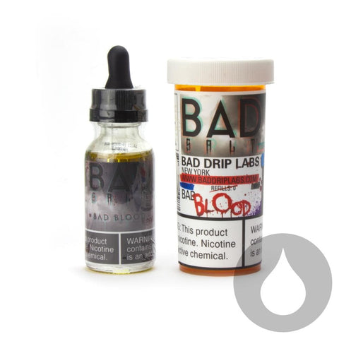 Bad Drip Labs- Bad Blood - 30ml - Nicotine Salt  - Eliquids NZ - New Zealand's Vape, Ecig & Eliquid Store