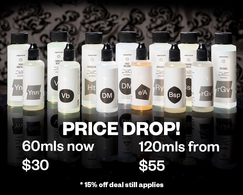 Price Drop! 60mls now $30, 120mls now $55