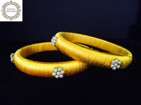 Resham (Silk) Kada Set