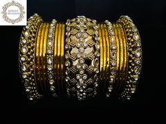 Yasmin Bangle Stack (Gold)