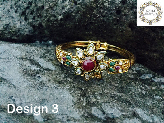 Gold Kada Collection