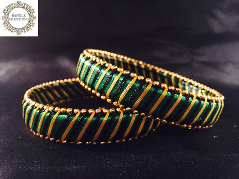 Resham (Silk) Kada Set of 2