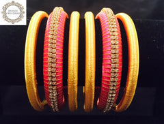 Resham (Silk) Bangle Stack