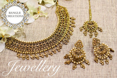 Indian Inspired Jewellery Set