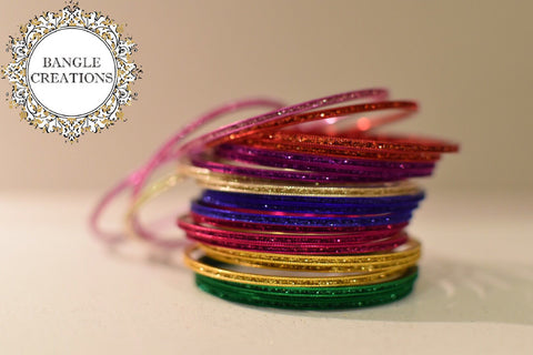 Glitter Mix and Match Bangles