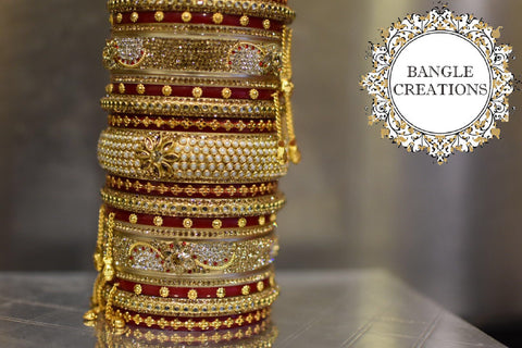 Bridal Bangle Chura Set (inc. keepsake box)