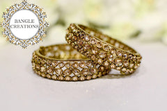 Sonali Gold Plated Kada Pair