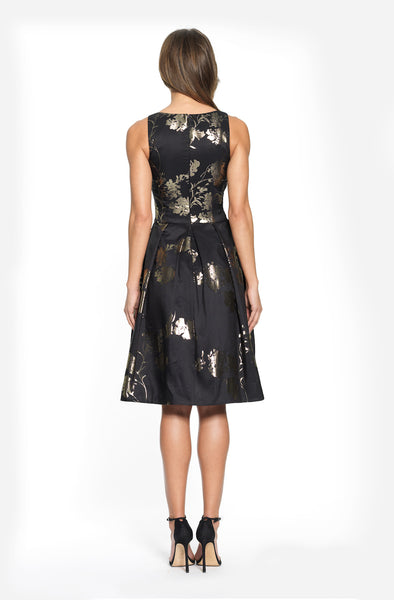 Jacquard Cocktail Dress