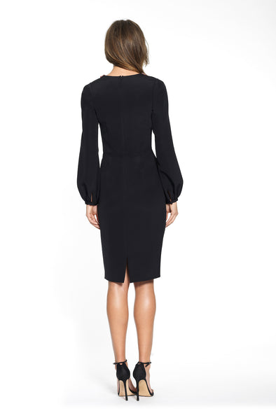 Bishop Sleeve Cocktail Dress