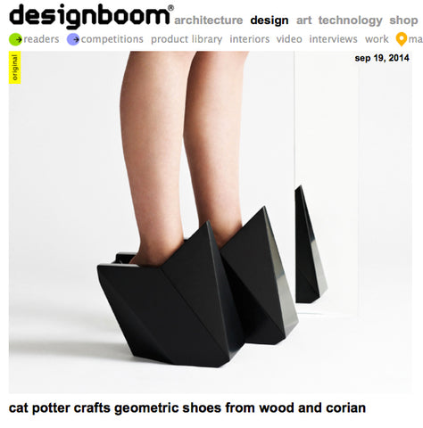 Freja and Pernilla have been featured on Design Boom!