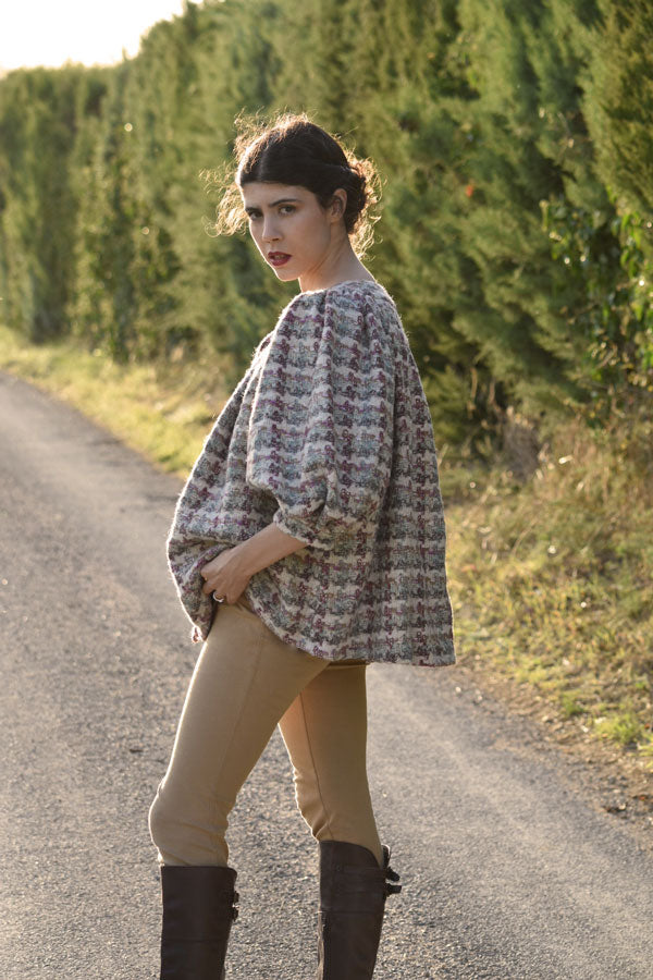 Iris Jacket in Wool & Cashmere Tweed (Pre-Order, Ships Dec 15)