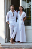Cassis Linen Weekend Dress (Pre-Order, Ships Feb 20)