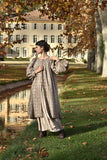 Isabelle Coat in Wool & Cashmere Tweed