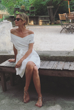 Marguerite White Linen Dress (Pre-Order; Ships May 10)