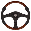 MOMO DARK FIGHTER WOOD 350MM STEERING WHEEL