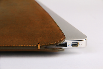 MacBook Air Crazy Horse  Premium Leather Sleeve - VORYA