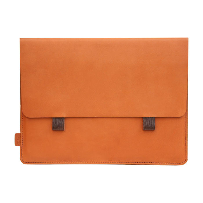 Toffee Premium Genuine Leather Pouch/ Sleeve/ cover for iPad Air- 10