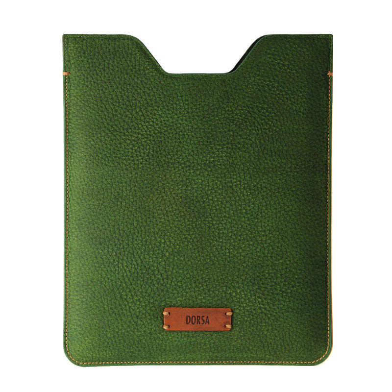 Copy of Premium Genuine Brown Crazy Horse Leather Sleeve Pouch for iPad - VORYA