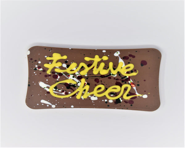 Festive Cheer Christmas Chocolate Bar