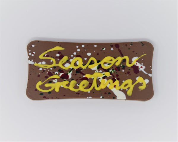 Seasons Greetings Chocolate Bar