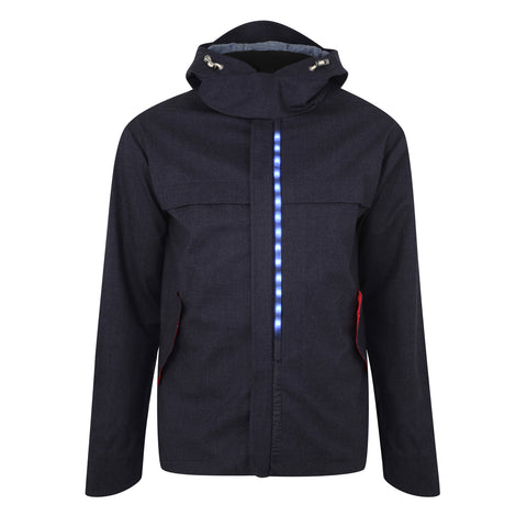 Mens Regents Parka Jacket - Blue
