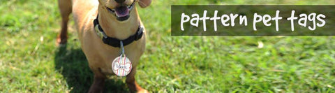 Pattern Pet Tags
