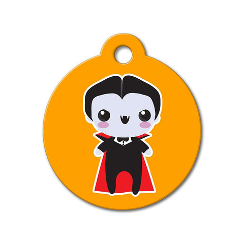 Dracula - Halloween Pet Tag - WagAvenue - 1