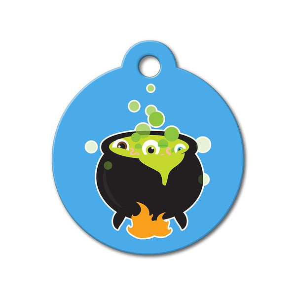 Eyeball Stew - Halloween Pet Tag - WagAvenue - 1