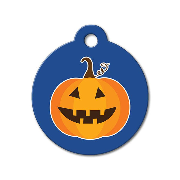 Halloween Pumpkin - Halloween Pet Tag - WagAvenue - 1