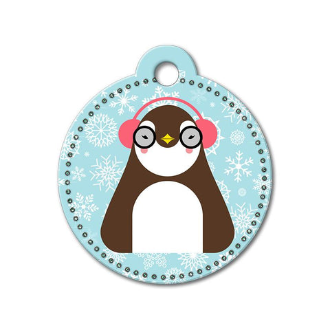 Penguin Holiday Dog Tag - WagAvenue - 1